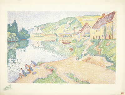 Paul Signac, 'Les Andelys', 1895