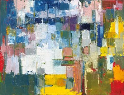 Nélio Saltão, 'Abstract Painting I', 2019