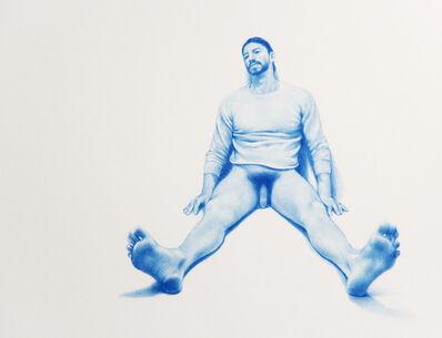 "Zachari Logan, 'Untitled (from the ""Blue Boy Series"")'"
