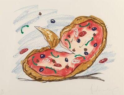 Claes Oldenburg, 'Pizza/Palette', 1996