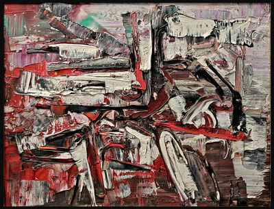 Jean-Paul Riopelle, 'Au Large1957', 1957