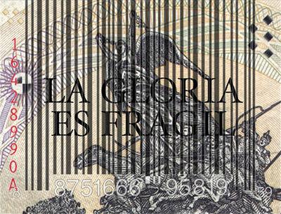 Margarita Paksa, 'La gloria es frágil', 1998