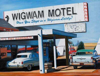 Alain Bertrand, 'Wigwam Motel'