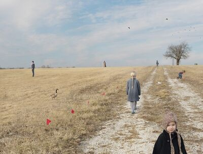 Julie Blackmon, 'Lot For Sale', 2015