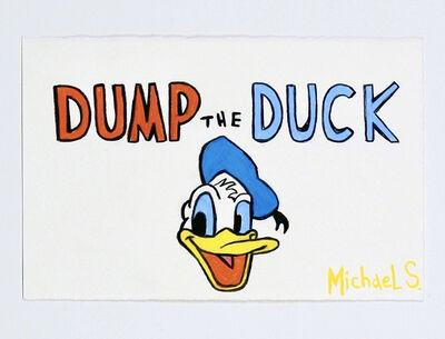 Michael Scoggins, 'COVIDBLM DRAWING #14 (Dump the Duck)', 2020