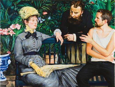 Jonathan Kraus, 'Mansplaining im Wintergarten', 2021