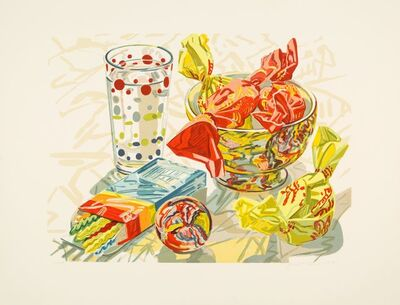 Janet Fish, 'Still Life with Candy', 1991