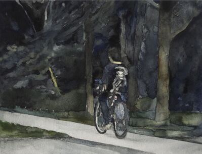 Alex Bierk, 'Untitled (Kid on Bike)', 2019