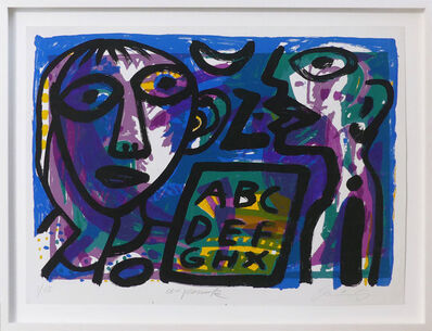 A.R. Penck, 'Kommunikation', 1993