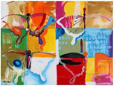 Rick Garcia, 'Four Butterflies', 2021