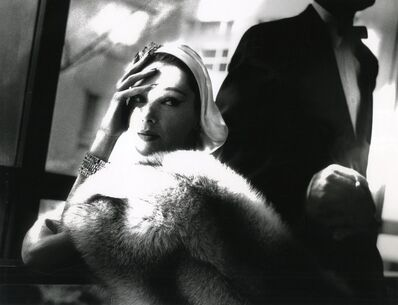 Lillian Bassman, 'Golden Fox, Blue Fox', 1954