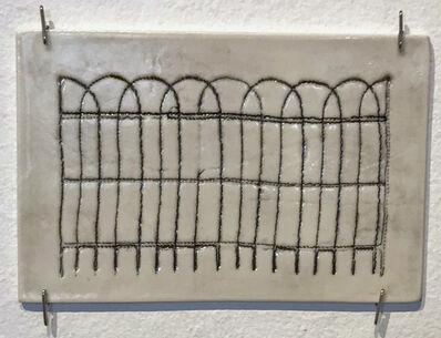 Jennifer Johnson, 'Powelton Village Iron Fence Tile 5'