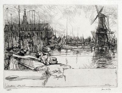 James McBey, 'Haarlem', 1910