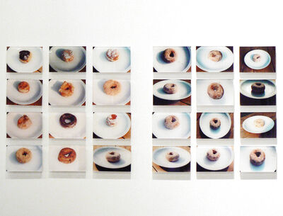 Spencer Finch, 'One Donut Twelve Times, Twelve Donuts One Time', 2001