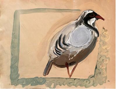 Rokni Haerizadeh, 'Just a bird 1', 2016