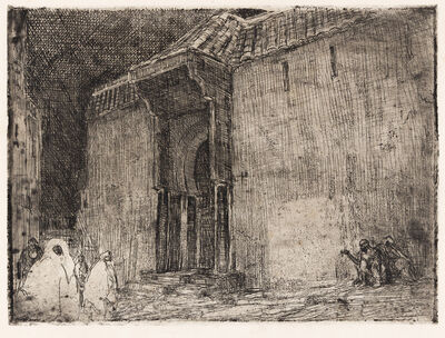 Henry Ossawa Tanner, 'Mosque, Tangier', circa 1912-14