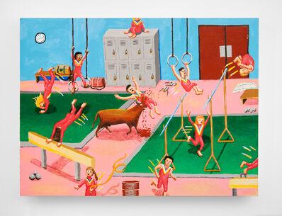 Ralph Pugay, 'Gymnastics Bull Attack', 2013