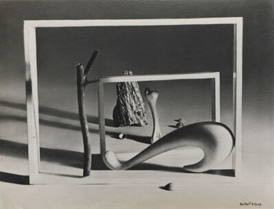 Herbert Bayer, 'Shortly Before Dawn', 1936