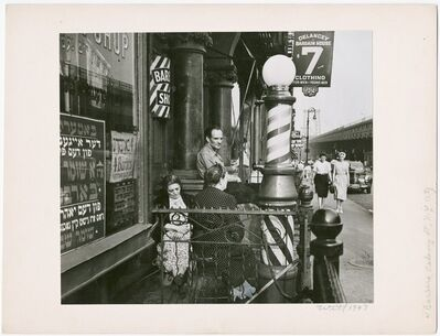 Bill Witt, 'Barbers, Delancy Street, NYC ', 1947
