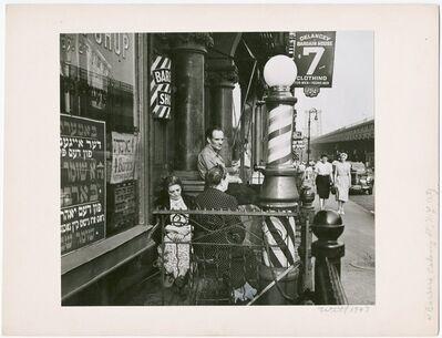 Bill Witt, 'Barbers, Delancy Street, NYC ', 1947
