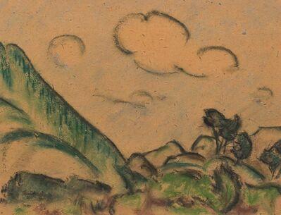 Alcide Lebeau, 'Paysage valloné'