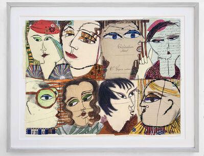 Kristiane Semar, 'Punky Deeple (8 Heads)', 2020