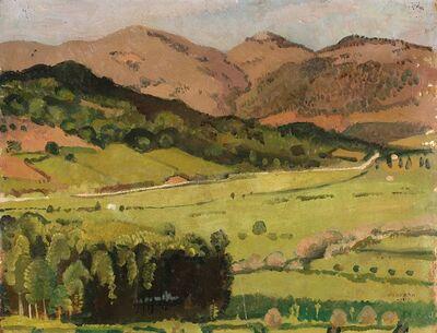 Felice Carena, 'Paesaggio di Anticoli', 1919