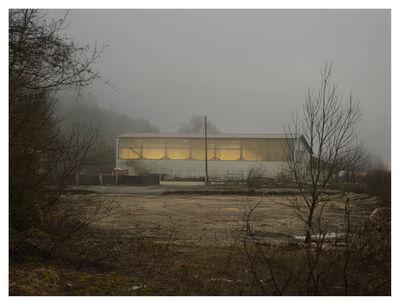 Cédric Delsaux, ''Crépuscule. D1084, route de Genève, Les Neyrolles', from the Series, Zone de Repli', 2014
