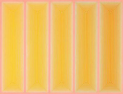 Richard Anuszkiewicz, 'Lino Yellow (318)', 1970