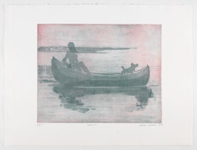 Deborah Brown, 'Canoeist II, edition 3/18', 2021