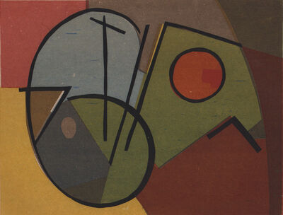 Morris Blackburn, 'Landscape Forms  1944', 1944