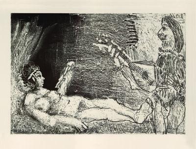 Pablo Picasso, 'L'Aubade', 1966