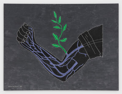 Anton van Dalen, 'Branch Drafted onto Arm', 1983