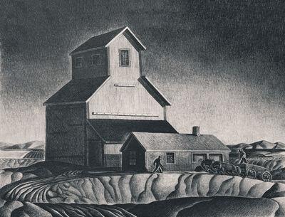 Dale Nichols, 'Grain Elevator', 1945