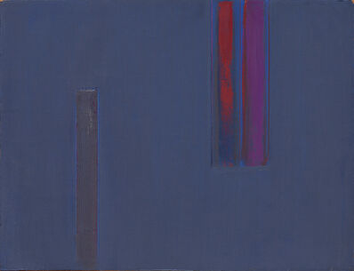 Martin Canin, 'Untitled - Blue, Red, Purple', ca. 1980
