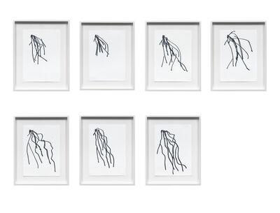 Lutz Bacher, 'Hair Drawings', 2010