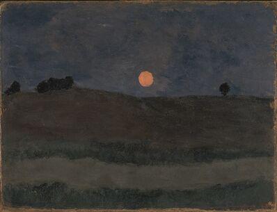 Paula Modersohn-Becker, 'Lune au-dessus d'un Paysage', 1900