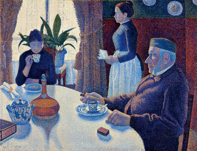 Paul Signac, 'The dining room, Opus 152', 1886/1887