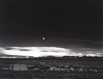 Ansel Adams, 'Moonrise Hernandez', 1941