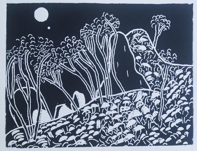 Vincent Bray, 'Moonlit Hill', 2015