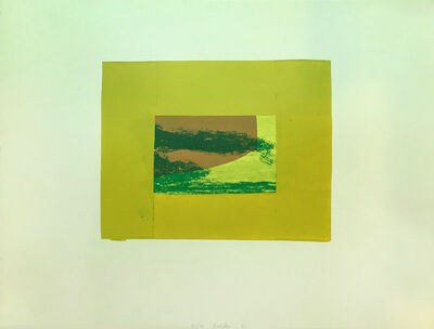 Howard Hodgkin, 'Indian Views – Plate F', 1971