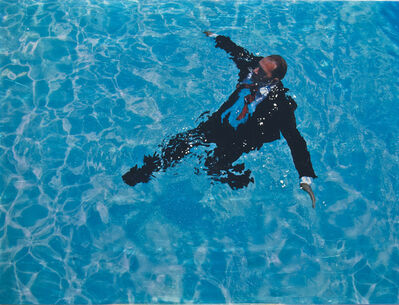 Eric Zener, 'Staying Afloat (in suit) II', 2014
