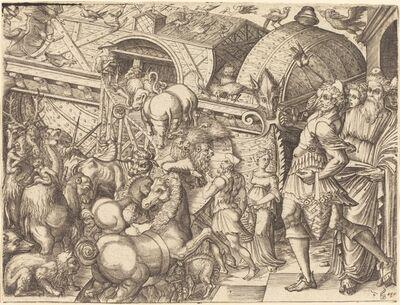 Pierre Woeiriot, 'Noah's Ark'