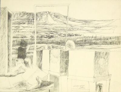 Sidney Goodman, 'Figures in a Landscape', ca. 1970