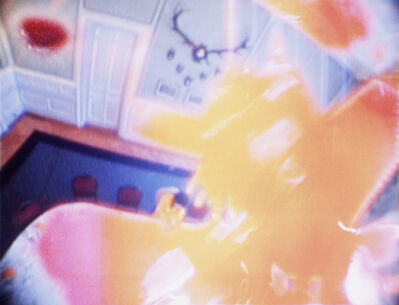 Pipilotti Rist, 'Figur am Tisch (Figure at the Table)', 2004