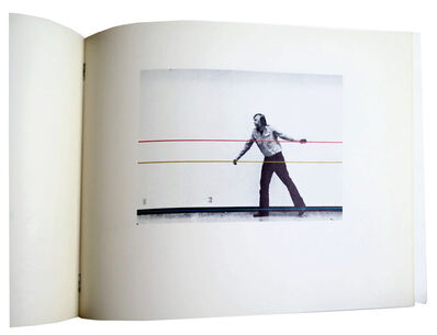 John Baldessari, 'Throwing a Ball Once to Get Three Melodies and Fifteen Chords', 1973