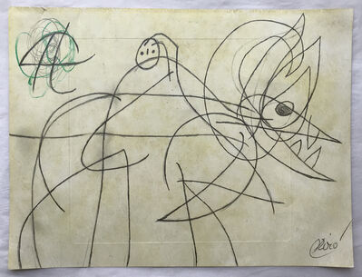 Joan Miró, ' Femme Oiseau ', 1977