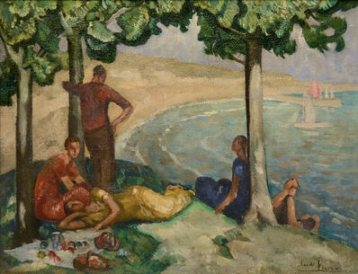 Claude Foreau, 'Déjeuner en bord de mer', 1903-1977