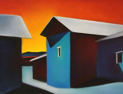 Margaret nes, 'Bright Ojo Walls 18-16', 2018