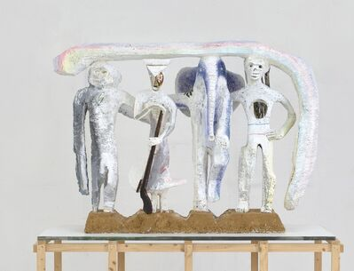 Lin May Saeed, 'Dach der Welt / The Liberation of Animals from their Cages X', 2010